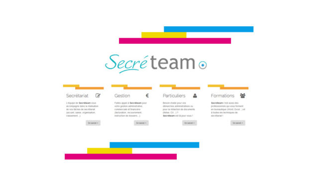 Refonte du site Internet Secréteam