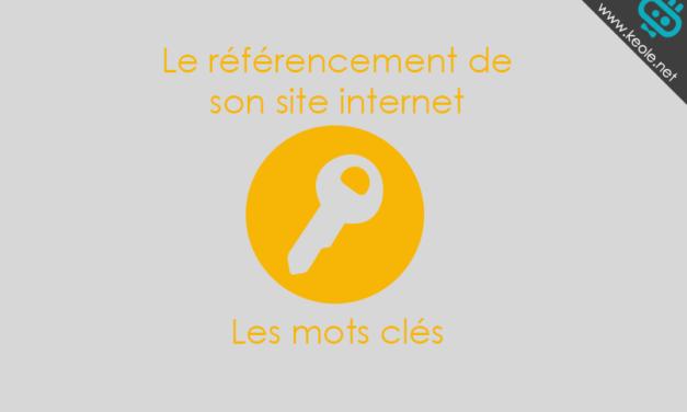 Le référencement de son site internet : le choix des mots clés