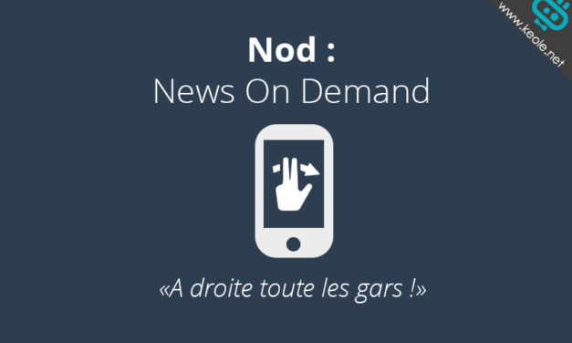 Nod l'application minimaliste d'information