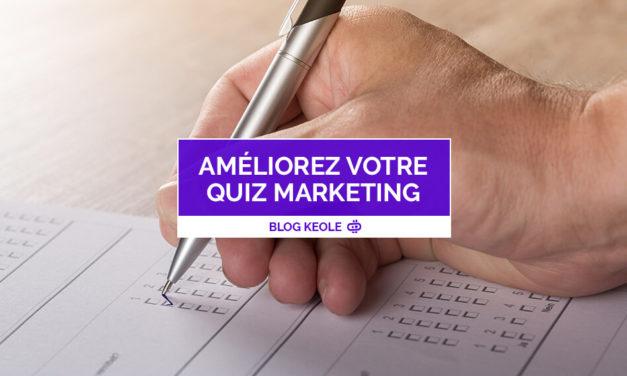 Quiz marketing : améliorez votre connaissance client