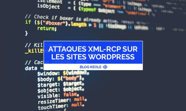 Attaques XML-RPC sur les sites WordPress en forte hausse