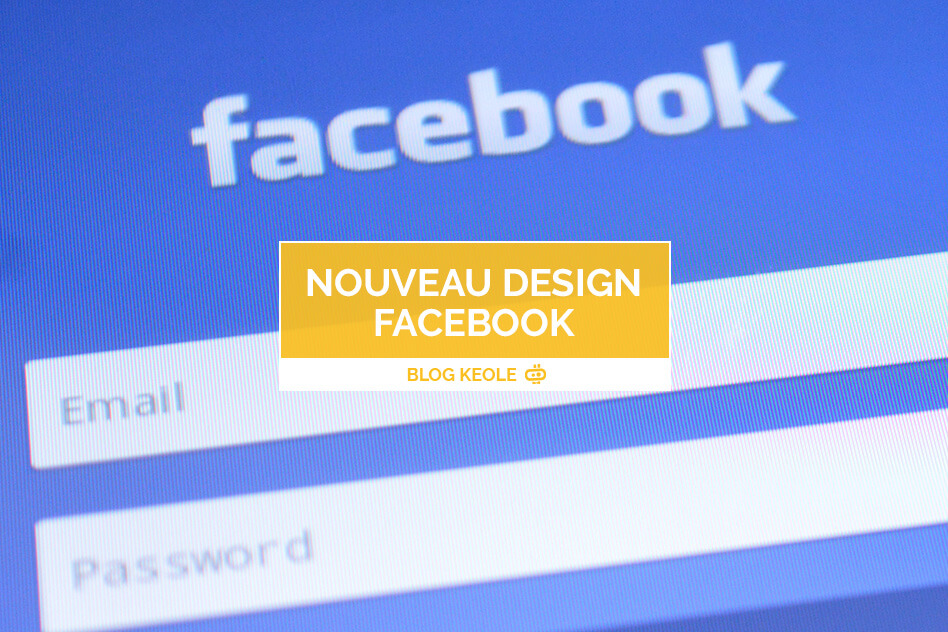 Page Facebook, nouveau design