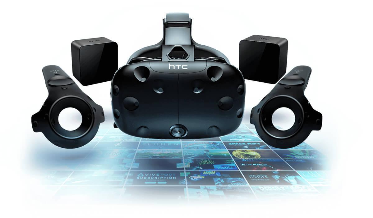 Réalité virtuelle matériel HTC VIVE