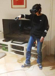 Test réalité virtuelle