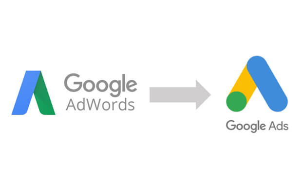 Changement de nom Google Ads