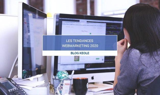 Les tendances WebMarketing de 2020