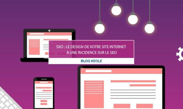 SXO : le design de votre site internet a une incidence sur le SEO
